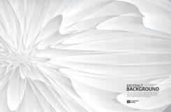 Fondo di Gray Curve Abstract, struttura bianca, carta da parati, superficie, insegna, modello della disposizione di progettazione royalty illustrazione gratis