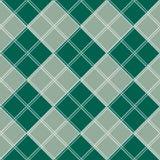 Fondo di Gray White Chess Board Christmas di verde blu Fotografie Stock Libere da Diritti