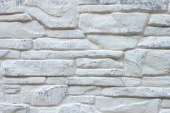 Fondo di Grey Brick Wall decorato fotografia stock