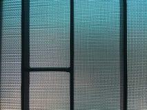 Fondo di grey della maglia della finestra Fotografie Stock