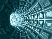 Fondo di griglia del tunnel Immagine Stock Libera da Diritti