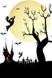 Fondo di Halloween Fotografie Stock