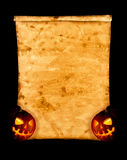 Fondo di Halloween. Fotografia Stock