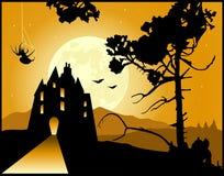 Fondo di Halloween illustrazione vettoriale
