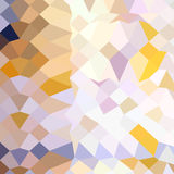 Fondo di Hansa Yellow Abstract Low Polygon Illustrazione di Stock