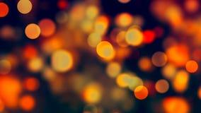 Fondo di HD Loopable con bokeh arancio piacevole archivi video