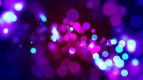 Fondo di HD Loopable con bokeh rosa piacevole royalty illustrazione gratis