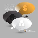 Fondo di infographics del fumetto di vettore illustrazione vettoriale