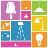 Fondo di interior design Immagini Stock Libere da Diritti