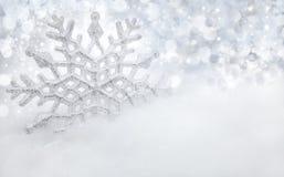 Fondo di inverno Fotografie Stock