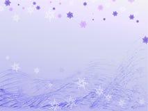 Fondo di inverno Royalty Illustrazione gratis