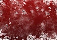 Fondo di inverno di Natale Fotografia Stock