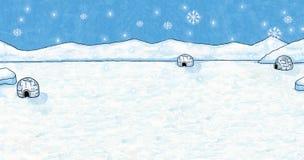 Fondo di inverno e di Natale - diffusione Immagini Stock