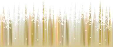 Fondo di inverno, illustrazione dei fiocchi di neve Fotografia Stock