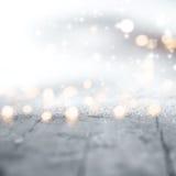 Fondo di inverno per il Natale Fotografie Stock