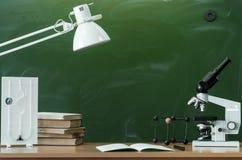 Fondo di istruzione Di nuovo al concetto del banco Immagini Stock Libere da Diritti