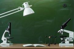 Fondo di istruzione Di nuovo al concetto del banco Immagine Stock