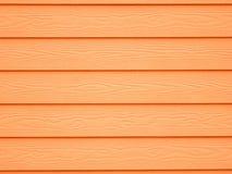 Fondo di legno arancio della carta da parati di struttura Immagine Stock Libera da Diritti