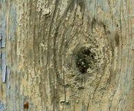 Fondo di legno asciugato e fendentesi di struttura Fotografie Stock