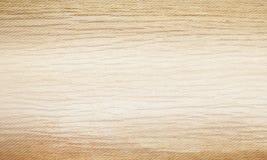 Fondo di legno beige leggero di struttura Modello naturale di orizzontale del campione del modello Illustrazione di vettore Fotografia Stock
