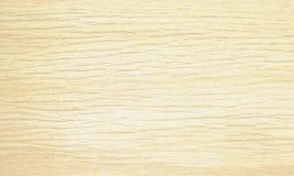 Fondo di legno beige leggero di struttura Modello naturale di orizzontale del campione del modello Illustrazione di vettore Fotografie Stock