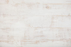 Fondo di legno bianco con la vista superiore dello spazio di alta risoluzione della copia Immagine Stock