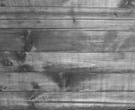 Fondo di legno in bianco e nero Fotografia Stock Libera da Diritti