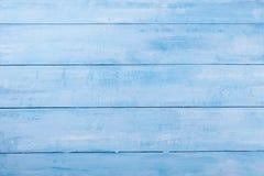 Fondo di legno blu con l'alta risoluzione Spazio della copia di vista superiore Immagine Stock Libera da Diritti
