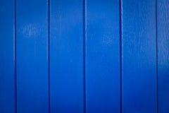 Fondo di legno blu di struttura Fotografie Stock