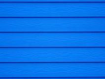 Fondo di legno blu profondo della carta da parati di struttura Fotografia Stock Libera da Diritti
