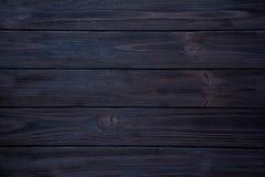 Fondo di legno blu scuro Immagini Stock