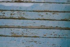 Fondo di legno blu di struttura che viene dall'albero naturale Pannello di legno con i bei modelli Spazio per lavoro immagini stock