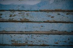 Fondo di legno blu di struttura che viene dall'albero naturale Pannello di legno con i bei modelli Spazio per lavoro fotografie stock