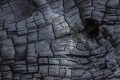 Fondo di legno bruciante Immagine Stock