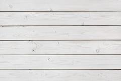 Fondo di legno candeggiato di struttura dell'estratto della parete delle plance fotografia stock libera da diritti