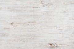 Fondo di legno candeggiato fatto a mano di struttura, immagine orizzontalmente orientata fotografia stock libera da diritti