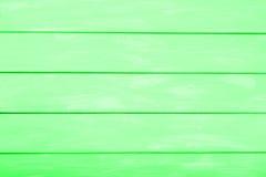 Fondo di legno colorato verde chiaro, fondo di legno astratto per progettazione Fotografia Stock Libera da Diritti
