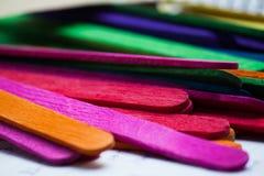 Fondo di legno Colourful immagini stock libere da diritti