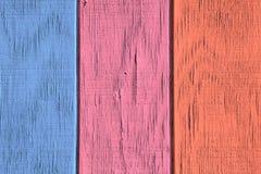 Fondo di legno d'annata e struttura con la pittura della sbucciatura immagine stock libera da diritti