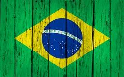Fondo di legno del Brasile Fotografia Stock Libera da Diritti