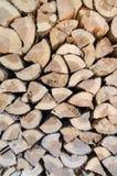 Fondo di legno del ceppo Immagini Stock