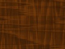 Fondo di legno del grano della noce di metà del secolo del Faux fotografie stock libere da diritti