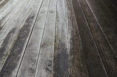 Fondo di legno del grano della plancia di struttura, tavola di legno dello scrittorio o pavimento Fotografie Stock Libere da Diritti
