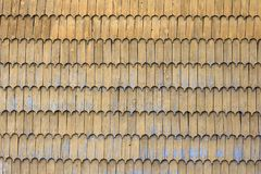 Fondo di legno del modello di struttura del tetto dell'assicella fotografie stock