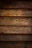 Fondo di legno del pannello Fotografia Stock Libera da Diritti