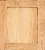 Fondo di legno del pannello Fotografie Stock Libere da Diritti