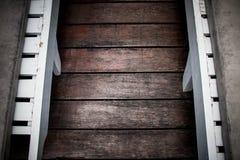 fondo di legno del pavimento Fotografia Stock
