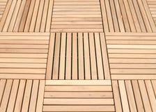 Fondo di legno del pavimento del pannello della piattaforma immagine stock