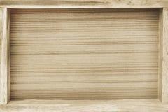 Fondo di legno del vassoio fotografie stock libere da diritti