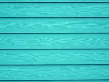 Fondo di legno della carta da parati di struttura del turchese Immagine Stock Libera da Diritti